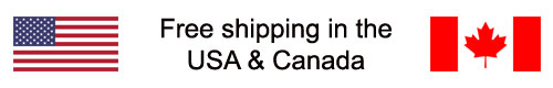 Free shipping in the USA and Canada